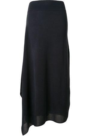 GOEN.J Side-slit asymmetric skirt