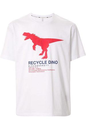 Blackbarrett Recycle dino' cotton T-shirt