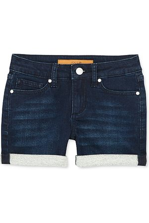 Joes Jeans Girls' The Markie Mid-Rise Roll-Cuff Denim Shorts - Little Kid