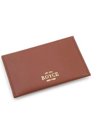 Royce New York Leather Envelope Card Case
