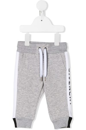 Givenchy Jersey logo tracksuit bottoms - Grey