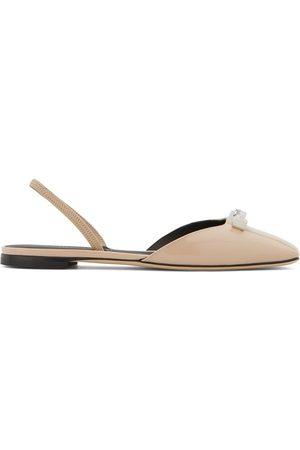 Giuseppe Zanotti Women Ballerinas - Vania slingback ballerina shoes