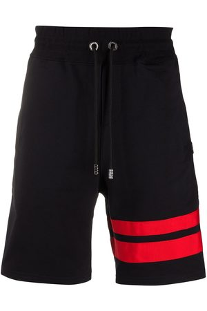 GCDS Stripe detailed track shorts