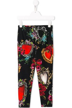 Dolce & Gabbana Hearts print trousers
