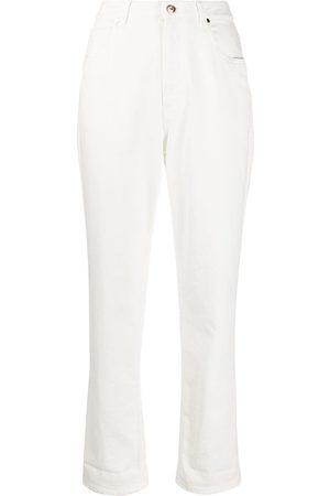 Brunello Cucinelli High-rise straight jeans