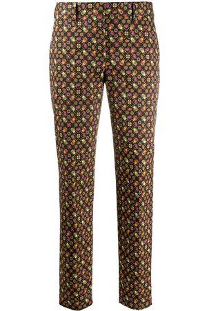 Paul Smith Straight leg beetle print trousers