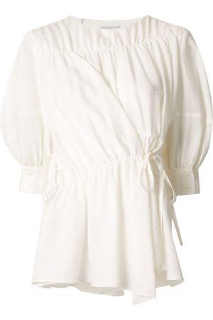 GOEN.J Women Blouses - Multi-directional ruched blouse