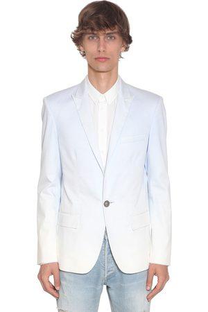 Balmain Gradient Dyed Cotton Blazer
