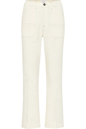 Frame Carpenter high-rise flared jeans