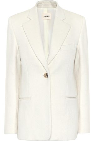 Khaite Vera wool and alpaca-blend blazer