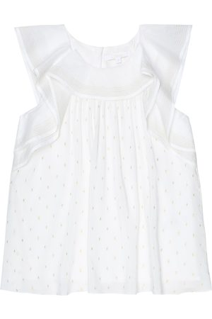 Chloé Baby ruffle-trimmed dress