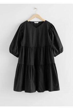 & OTHER STORIES Women Midi Dresses - Cotton Blend Voluminous Midi Dress
