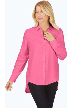 Foxcroft Ember Garment Dyed Tencel® Tunic