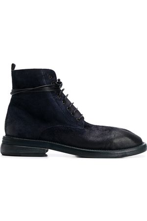 MARSÈLL Plain lace-up ankle boots