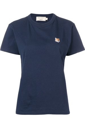 Maison Kitsuné Women T-shirts - Fox patch T-shirt
