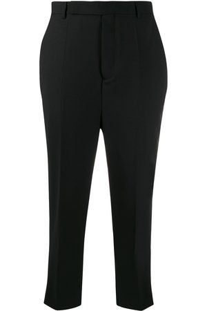 Rick Owens Women Formal Pants - Cropped tailored trousers