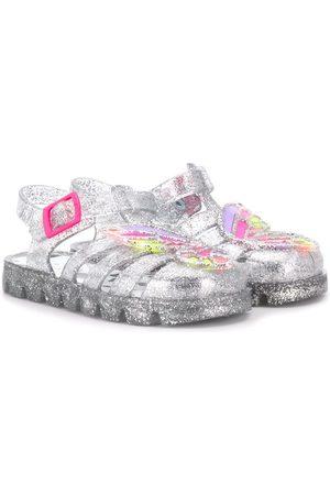 SOPHIA WEBSTER Girls Sandals - Glitter detailed sandals