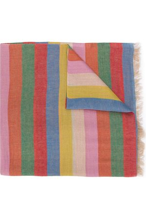 Etro Striped print scarf