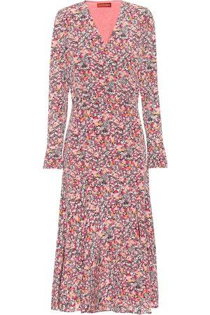 Altuzarra Martha floral silk midi dress