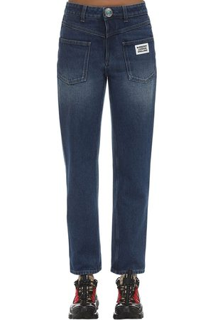 Burberry Cotton Straight Jeans