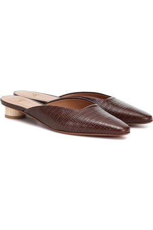 LOQ Carmen leather mules