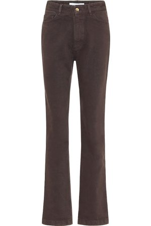 MATTHEW ADAMS DOLAN High-rise straight jeans