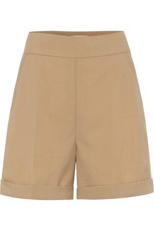 Marni High-rise wool shorts