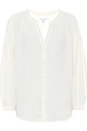 Velvet Women Blouses - Monique cotton blouse