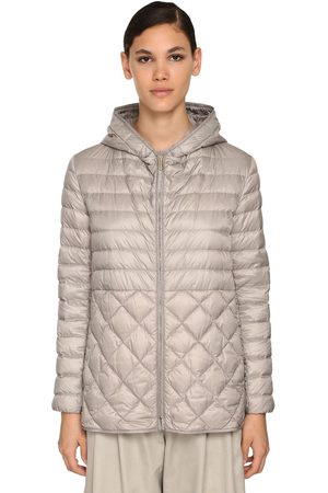 Max Mara Hooded Water Proof Nylon Down Jacket
