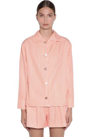 Kenzo Striped Cotton Poplin Shirt