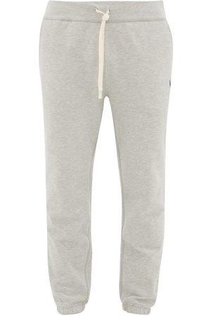 Polo Ralph Lauren Men Sweatpants - Logo-stitched Cotton-blend Track Pants - Mens - Grey