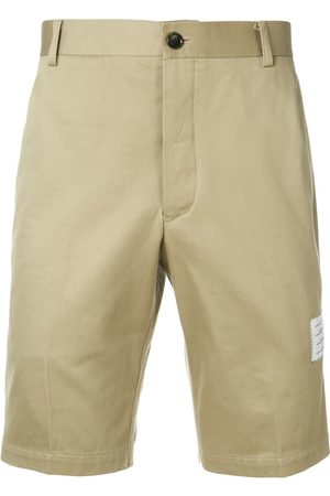 Thom Browne Cotton Twill Unconstructed Chino Shorts - Neutrals