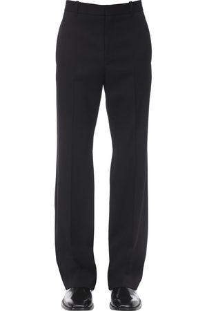 Balenciaga Tailored Stretch Wool Pants