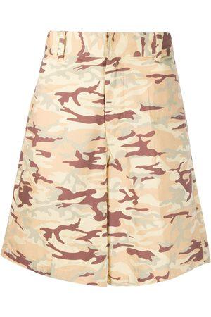 Diesel Camouflage-print shorts - Neutrals