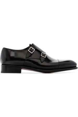 santoni Men Formal Shoes - Double-strap monk shoes
