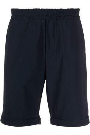 Hydrogen Turn up cuff elasticated waist shorts