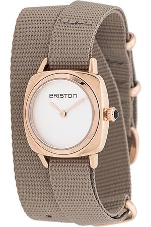 Briston Clubmaster lady wrap watch - Neutrals