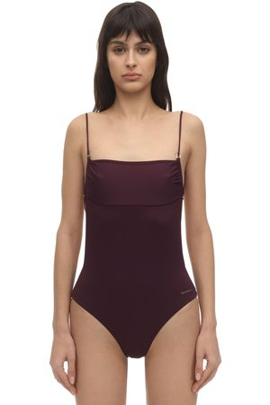 Stella McCartney One Piece Swimsuit W/ Fine Straps
