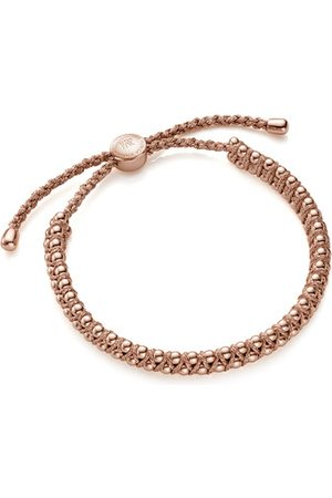 Monica Vinader Bracelets - Rose Gold Rio Friendship Bracelet