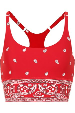 Adam Selman Sport Printed sports bra