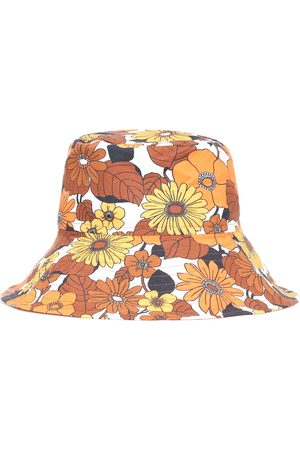 DODO BAR OR Floral cotton hat