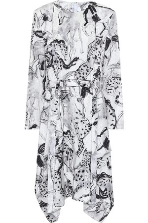 Stella McCartney Kalyn printed silk midi dress