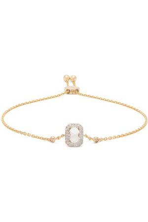 Anissa Kermiche Women Bracelets - April Diamond, Quartz & Gold Bracelet - Womens - Clear