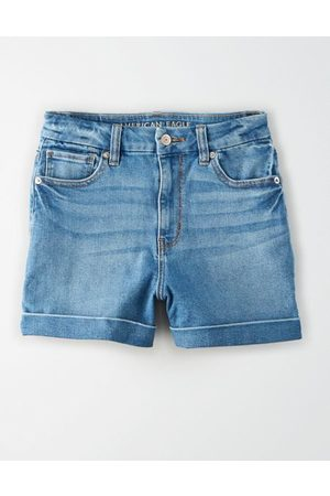 American Eagle Outfitters Curvy Denim Mom Shorts Women's 2