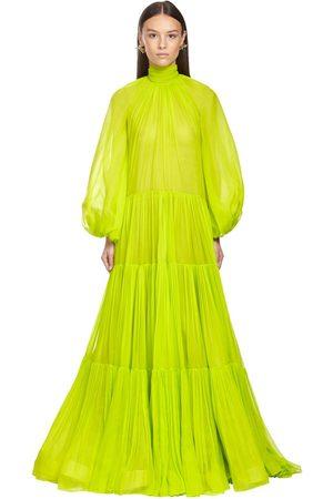 VALENTINO Ruffled Georgette Long Dress