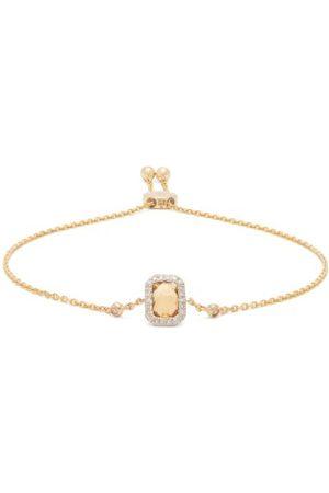 Anissa Kermiche November Citrine, Diamond & Gold Bracelet - Womens