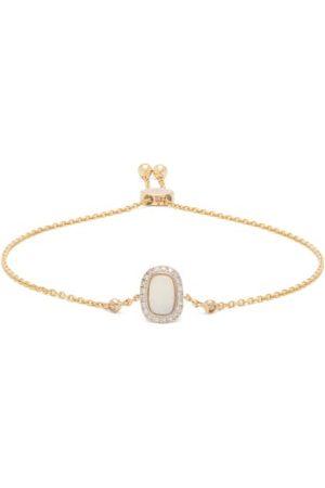 Anissa Kermiche Women Bracelets - October Opal, Diamond & 14kt Gold Bracelet - Womens - Multi