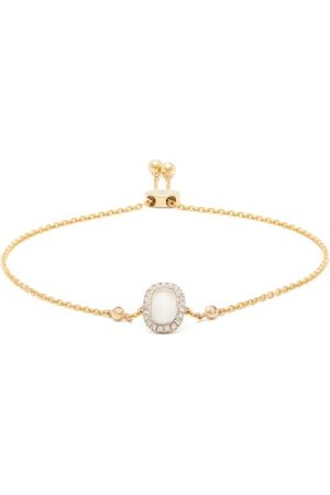 Anissa Kermiche June Moonstone, Diamond & Gold Bracelet - Womens - Multi