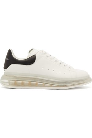 Alexander McQueen Raised Bubble-sole Leather Trainers - Mens