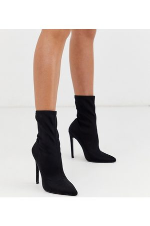 ASOS Esmerelda high heeled sock boots in